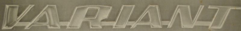 logomarca da Variant